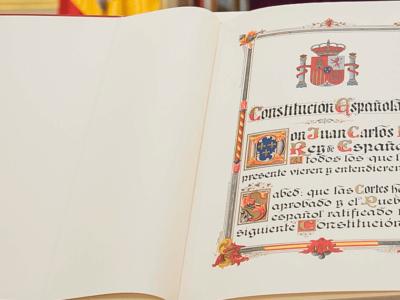 Datos sobre la Constitución de 1978
